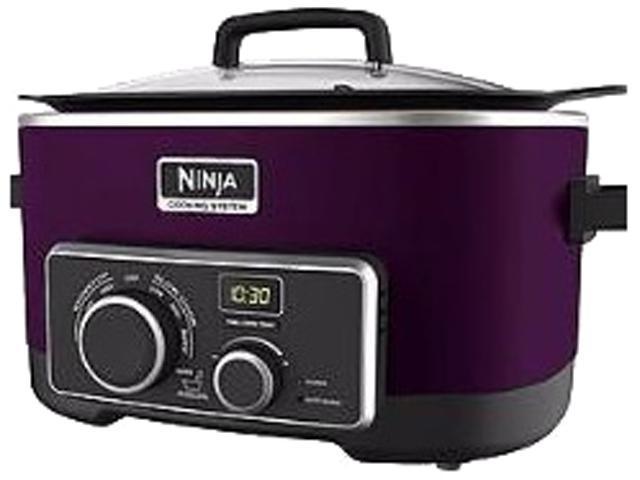 Refurbished Ninja 4 In 1 Slow Cooker 6 Qt Eggplant Newegg Com