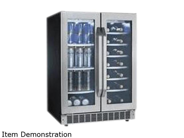 Danby DBC7070BLSST 5.14 Cu. Ft. (60 Beverage Cans And 27 Bottles Of Wine