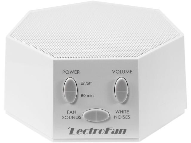 LectroFan White Noise and Fan Sound Machines, White ASM1007 - Newegg com