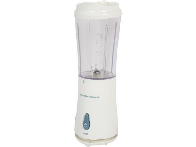 Hamilton Beach 51102 White Single Serve Blender With 2 Jars And 2