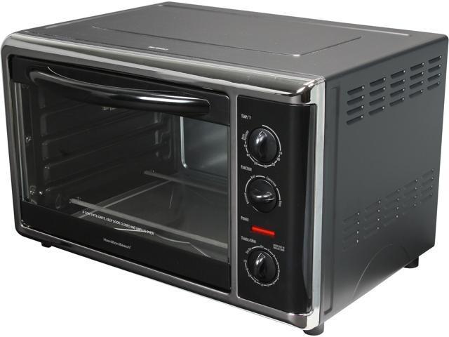 Hamilton Beach 31100 Black Countertop Oven With Convection