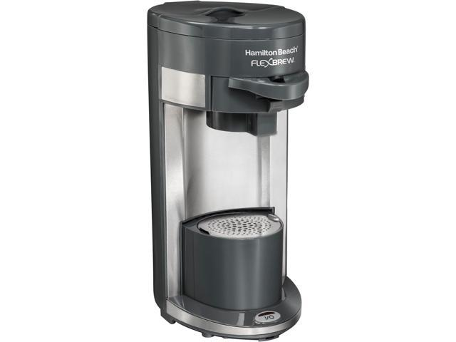 Hamilton Beach 49963 Gray Flexbrew Single Serve Coffeemaker