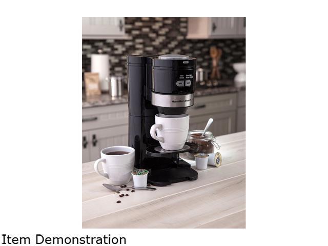 Black Grind and Brew Single Serve 49989 Hamilton Beach Coffee Maker