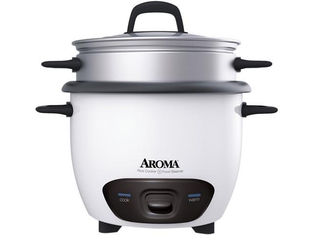 aroma arc 743 1ng 3 cups uncooked 6 cups cooked pot style rice rh newegg com Aroma Rice Cooker and Food Steamer Aroma Rice Cooker Warranty