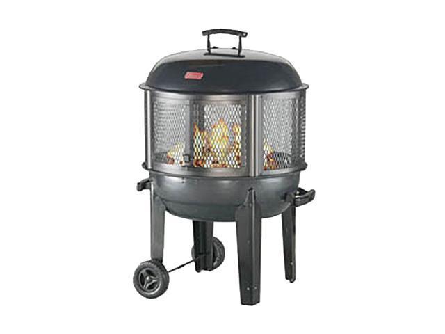 Coleman 5068 700 Patio Fireplace With Wheels Newegg Com