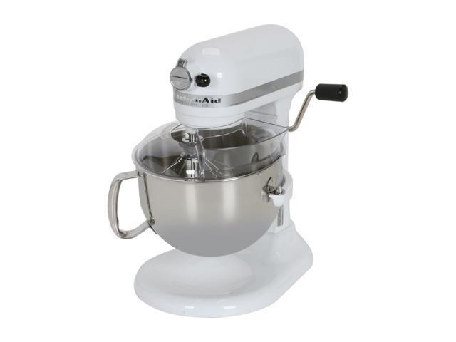 KitchenAid KP26M1XWH Professional 600 6 Quart Stand Mixer White