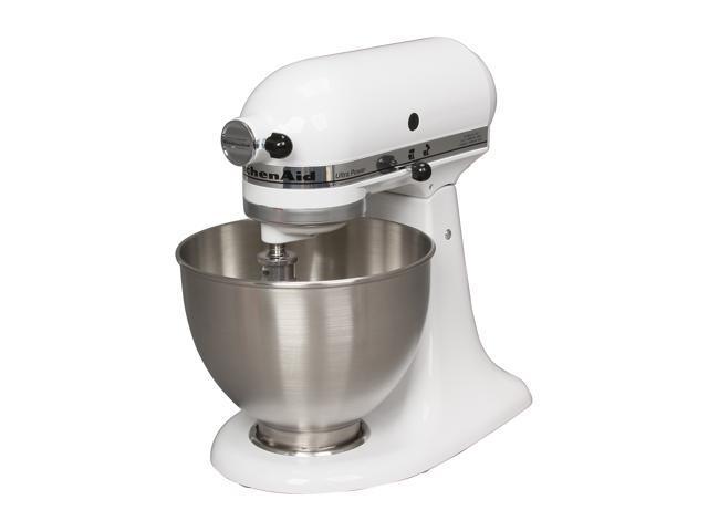 KitchenAid KSM95WH Ultra Power Tilt-Head 4-Quart Stand Mixer White -  Newegg.com