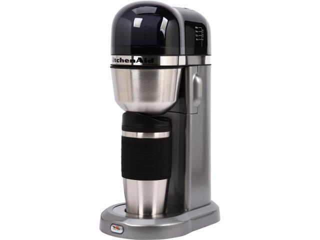 Kitchenaid Kcm0402cu Contour Silver Personal Coffee Maker With
