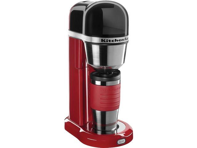 Kitchenaid Kcm0402er Empire Red Personal Coffee Maker With