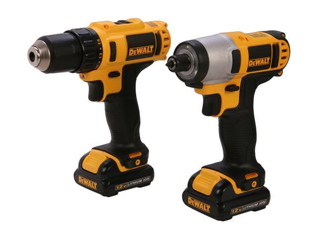 Dewalt 12v max lithium ion drill/impact combo kit