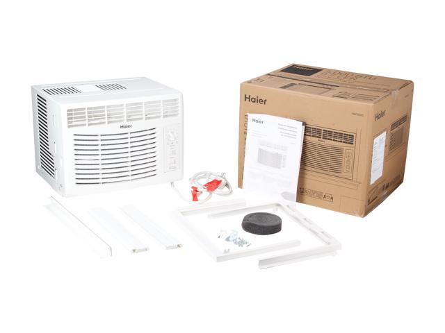 Haier HWF05XCL 5,000 Cooling Capacity (BTU) Window Air Conditioner -  Newegg com