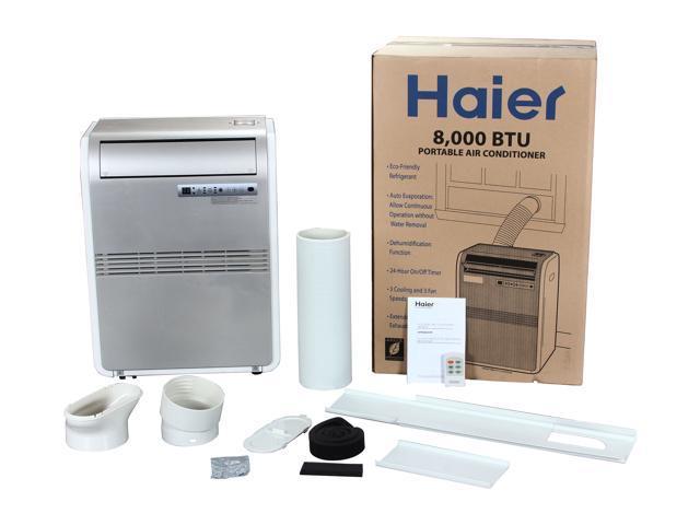 Haier HPRB08XCM 8,000 Cooling Capacity (BTU) Portable Air Conditioner -  Newegg com