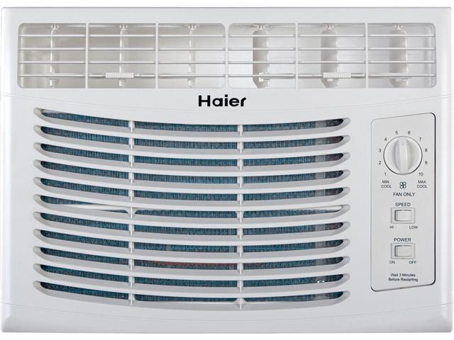 Haier HWF05XCL-L 5,000 Cooling Capacity (BTU) Window Air ...