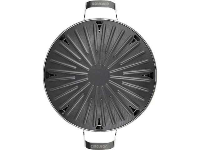 Circulon 83562 12 Inch Round Stovetop Grill With Accessories