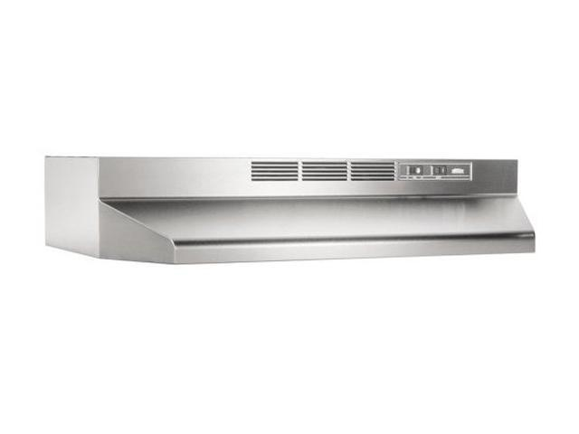 Broan 413004 ADA Capable Non Ducted Under Cabinet Range Hood, 30 Inch