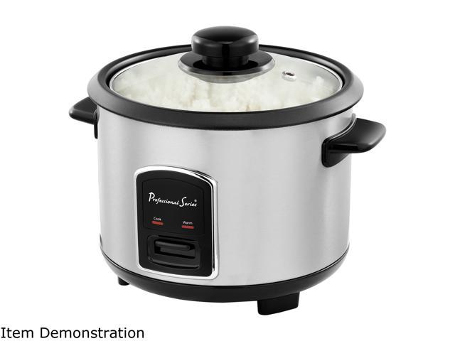 Continental Electric 12 Cup Rice Cooker Stainless Steel Ps75068 Newegg Com