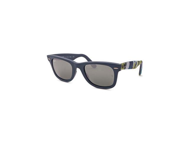 b0055404c9338 Ray-Ban Rb2140-6061-40 Women s Original Wayfarer Urban Camouflage Blue  Sunglasses