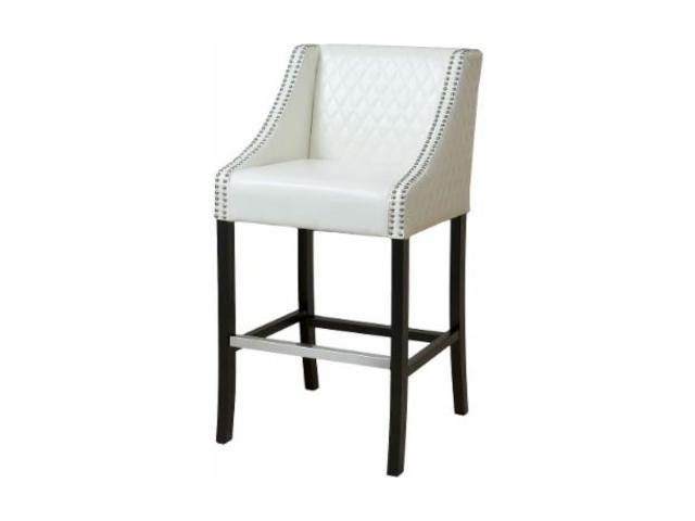 Christopher Knight Home Milano Ivory Quilted Leather Bar