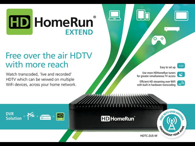 SiliconDust HDTC-2US-M HDHomeRun EXTEND - Newegg com