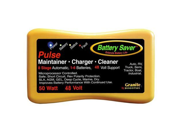 Battery Saver Battery Charger Maintainer Amp Cleaner 48