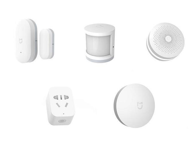 Xiaomi Mijia 5 in 1 Smart Home Security Kit, App Remote Control Compatible  with Alexa Echo (pack) - Newegg com