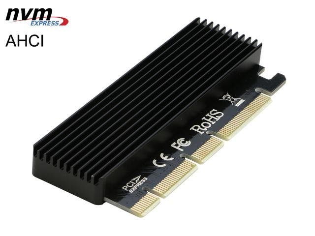 PCI-E 4X to NGFF SSD Adapter Card B-key+M-key M.2 NGFF+NVME PCIE Adapter Card