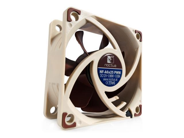 Noctua NF-A6x25 PWM, 4-Pin Premium Cooling Fan (60mm)