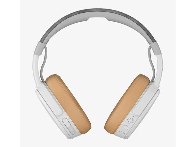 Skullcandy Crusher Bluetooth Wireless Over-Ear Headphone with Microphone  (Gray/Tan) - Newegg com