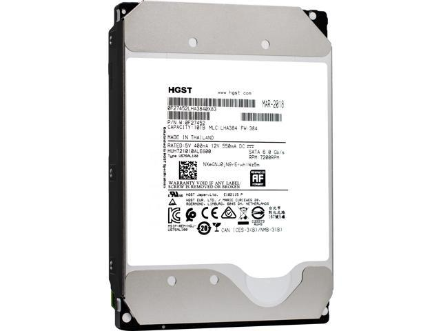 """Refurbished: HGST Ultrastar HE10 