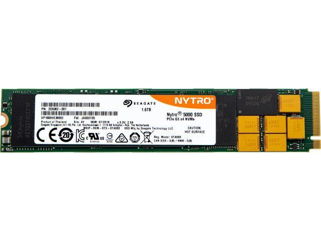 Seagate Nytro 5000 SSD 1600GB 3D cMLC PCIe Gen 3 0 x4 NVMe 1 2a M 2 22110  Internal Data Center Solid State Drive (XP1600HE30002) - Newegg com