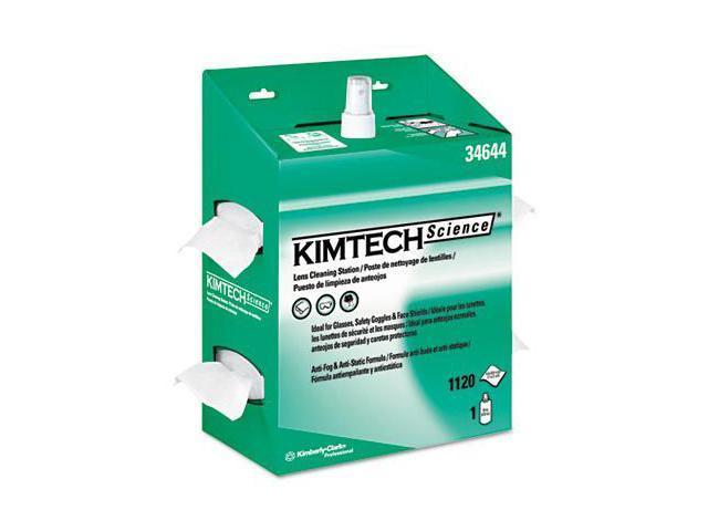 6cb3bfbda12 Kimberly-Clark 34644 Kimtech Science Kimwipes Lens Cleaning Station 4.5 x  8.5 Pop-Up