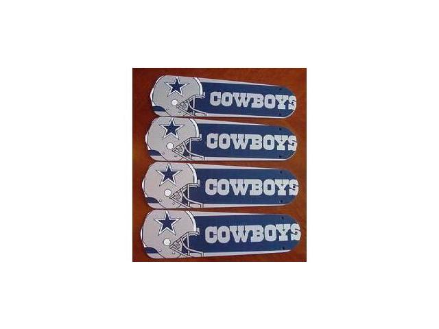 Ceiling Fan Designers 42set Nfl Dal Dallas Cowboys Football 42 In Blades Only Newegg