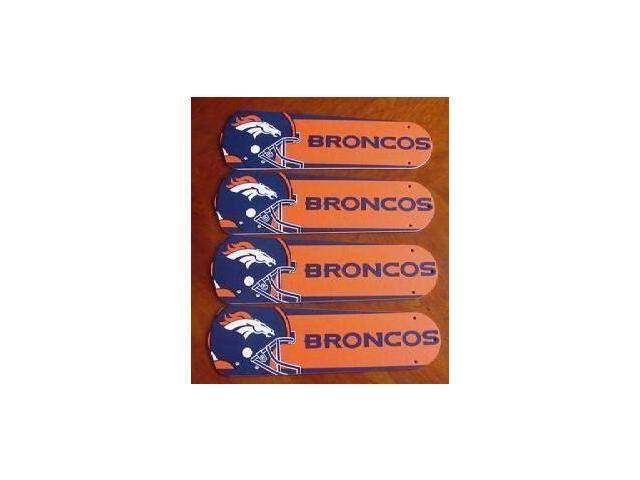 Ceiling Fan Designers 42set Nfl Den Denver Broncos Football 42 In Blades Only