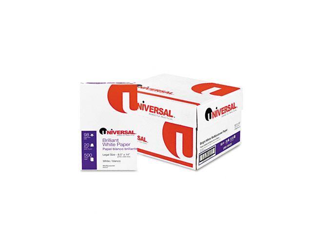 Universal 95400 Copy/Laser Paper 98 Brightness 20lb Legal White 5 000  Sheets/Carton - Newegg com