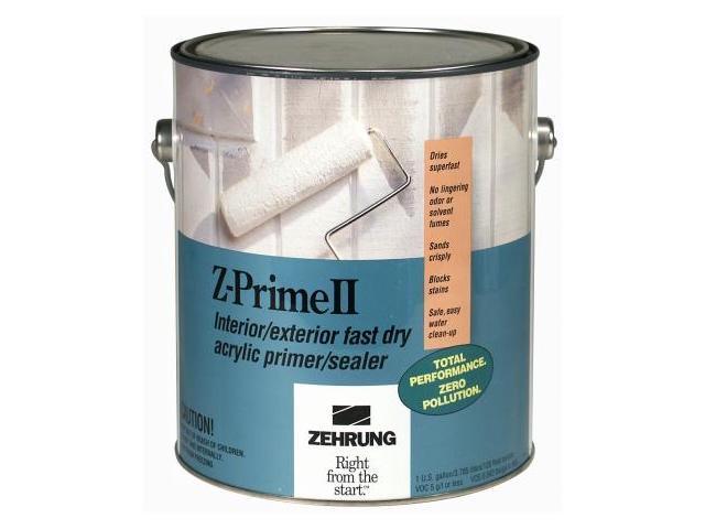 Rustoleum Gallon Z-Prime II Interior-Exterior Fast Dry Acrylic  Primer-Sealer 104 - Pack of 4 - Newegg com
