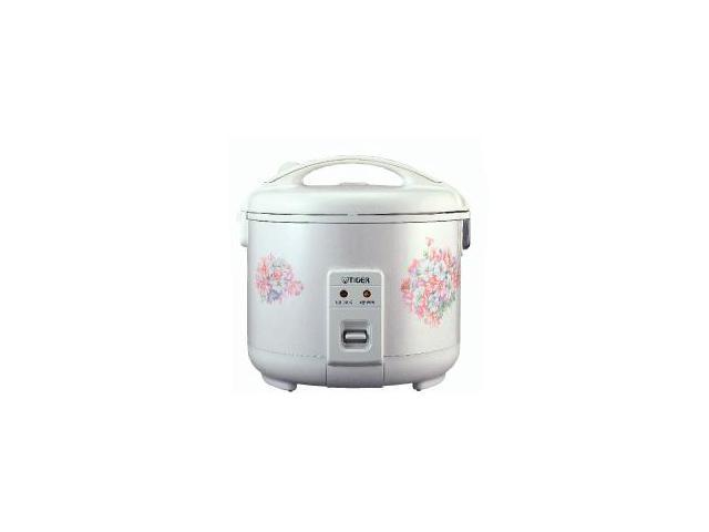 Tiger 3 Cup Electric Rice Cooker Warmer Floral White