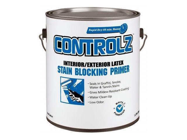 Valspar brand 1 gallon white interior exterior latex stain - Exterior acrylic latex stain blocking primer ...