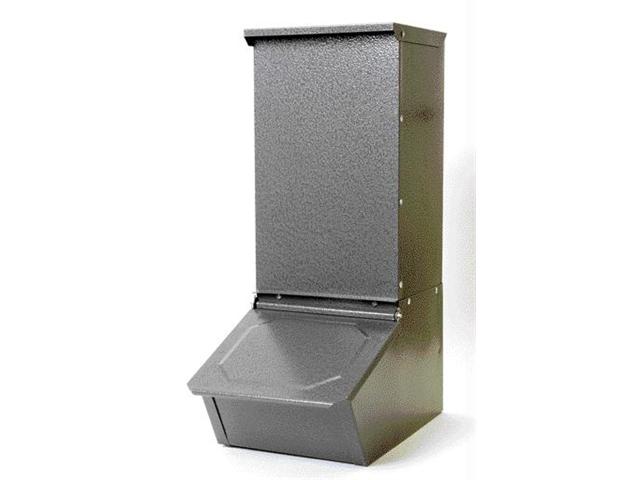 miller single door hog feeder