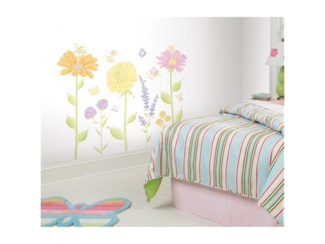 Roommates RMK1435SLM Fairy Garden Peel & Stick Mega Pack