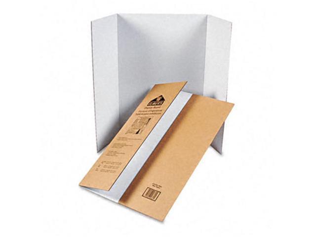 Elmers 730300 48 x 36 White 25 Pack Corrugated Display Board