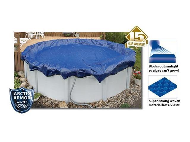 Arctic Armor WC934-4 15 Year 18\' x 34\' Oval Above Ground Swimming ...