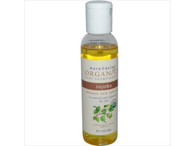 Health & Beauty Jojoba Oil 4 Fl Oz By Aura Cacia Customers First Bath & Body