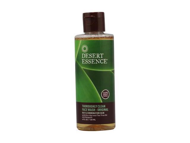 Desert Essence Thoroughly Clean Face Wash Original 4