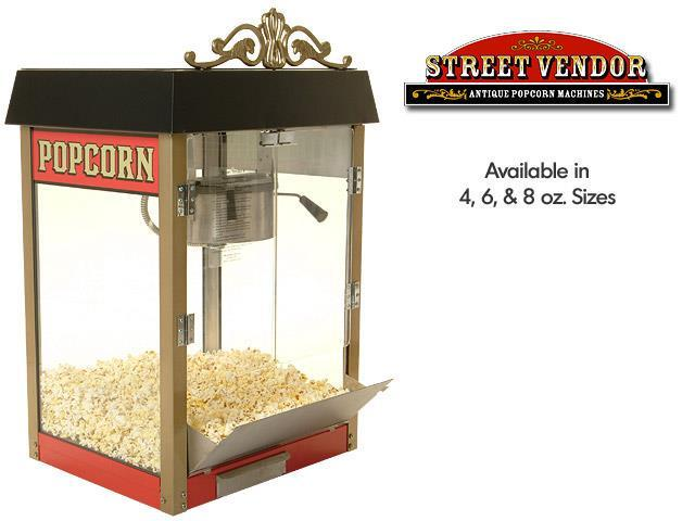 Popcorn POPCORN MACHINE POPPER Benchmark Street Vendor 8 11080