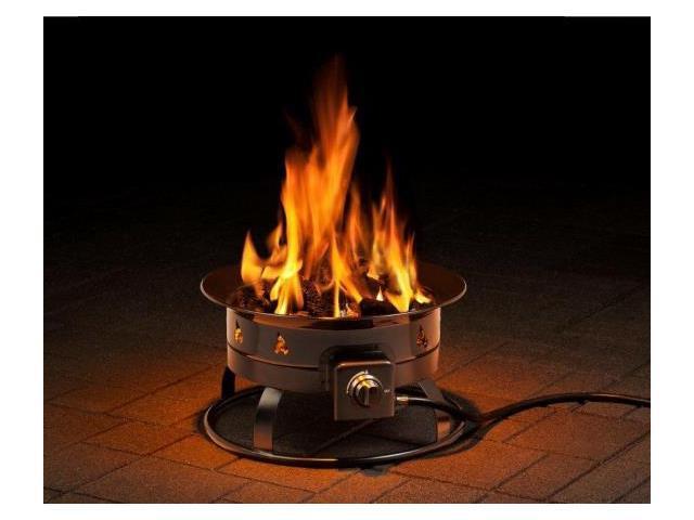 Heininger 5995 58 000 BTU Portable Propane Outdoor Fire ...