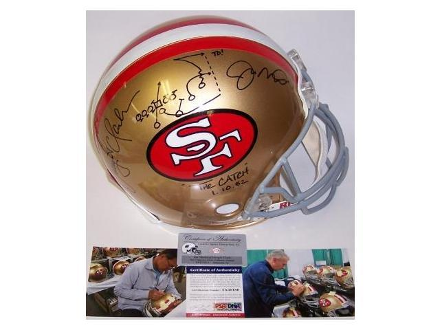 fcca10d2313 Creative Sports Enterprises APROSF-CLAMON-PSA Dwight Clark   Joe Montana  Autographed Hand Signed