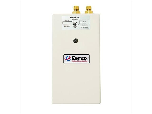 eemax sp3512 single point 3.5 kw 120-volt electric tankless water