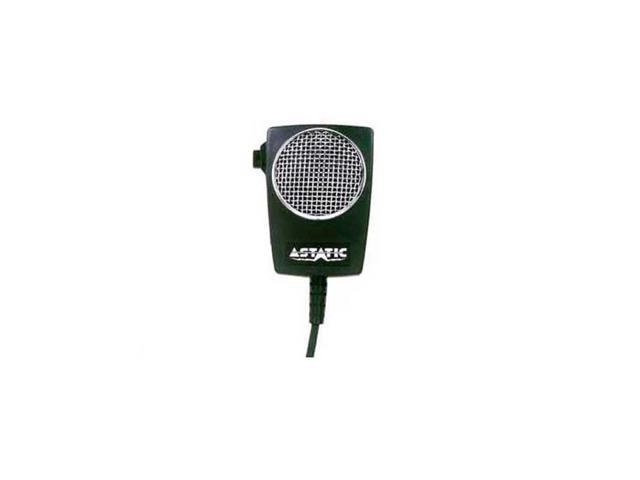 Astatic D104M6B-DX1 Black Power Cb Microphone Wired 4 Pin Co-Uniden on