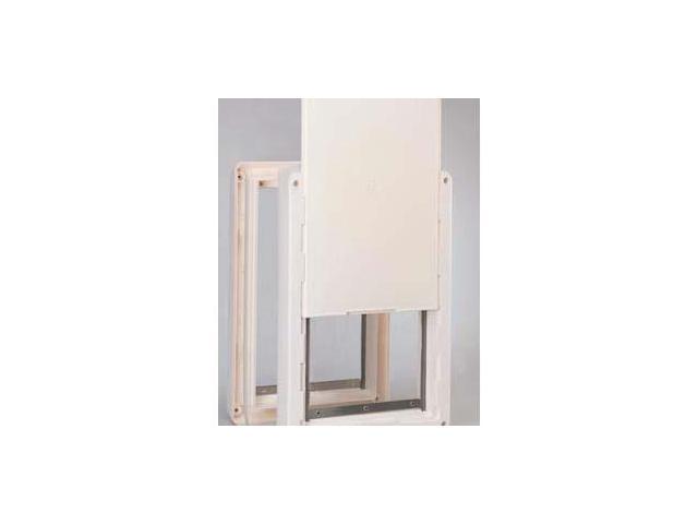 Ideal Ruff Weather Pet Door Super Large 15 X 325 Rwsl Newegg