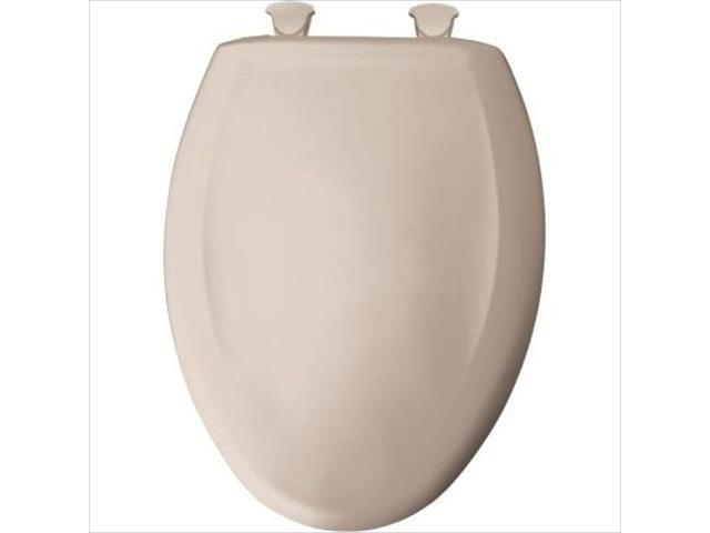 Peachy Church Seat 1200Slowt 443 Elongated Closed Front Toilet Seat In Innocent Blush Theyellowbook Wood Chair Design Ideas Theyellowbookinfo